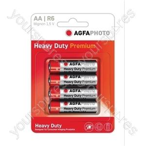 AGFA PHOTO Zinc Chloride Battery - Type AA