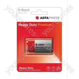 AGFA PHOTO Zinc Chloride Battery - Type PP3