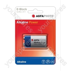 AGFA PHOTO Alkaline Batteries - Type PP3