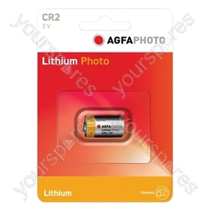 AGFA PHOTO Lithium Cell CR2 (Card Of One)