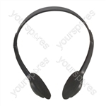Lightweight Stereo Computer/TV Headphones  - Lead Length 2m