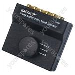 3 Way Audio/Video Input Selector