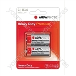 AGFA PHOTO Zinc Chloride Battery - Type C
