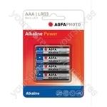 AGFA PHOTO Alkaline Batteries - Type AAA