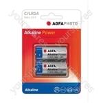 AGFA PHOTO Alkaline Batteries - Type C