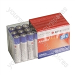 Agfa Photo Alkaline Battery AA 24 Pack