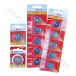 AGFA Lithium Button Cells Blister of 1 - Type CR2025
