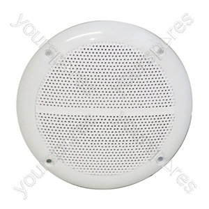 Round Ceiling Speaker With Moisture Resistant Cone 35W 4 Ohm