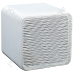 e-audio Mini Box Speakers - Colour White