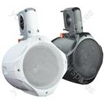 "e-audio Black 8"" 2-Way Public Address Speaker (8 Ohms 260 W) - Colour White"