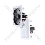 e-audio Square Ceiling Speakers With Tweeter - Size 8""