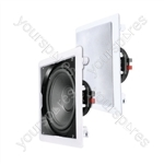 "e-audio In-Wall or Ceiling Subwoofer With 12"" Coaxial Driver"