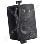 "e-audio 3"" Background Music Speakers With Brackets 80W 4 Ohm - Colour Black"
