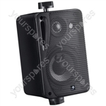 "e-audio 5.25"" Background Music Speakers With Brackets 160W 4 Ohm - Colour Black"