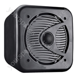 "e-audio 5.25"" 2-Way Mini Box Speakers - Colour Black"