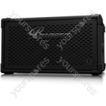 Bugera BT210TS Ultra-Compact and Lightweight 1,600-Watt Bass Cabinet with Original 2 x 10'' TURBOSOUND Speakers and Adjustable HF Driver