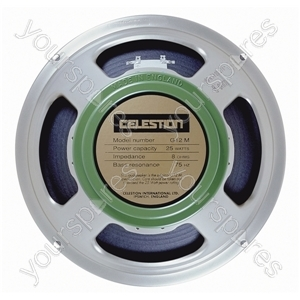Celestion Silver G12M Greenback Chassis Speaker 25W - Impedance (Ohms)  16