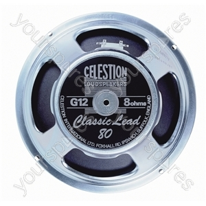 "Celestion Classic Lead 12"" 80 W Speaker - Impedance (Ohms)  8"