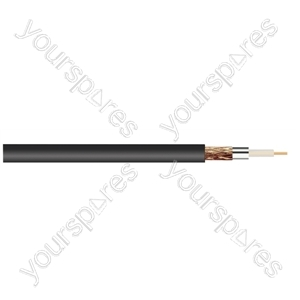 Standard Digital RG6U Satellite 75 Ohm Cable Hank - Lead Length (m) 25