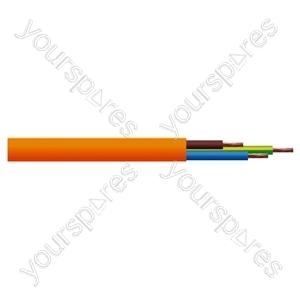 Round 3 Core 0.75mm PVC Flex 6A 3183Y - Colour Orange