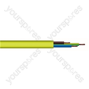Round 3 Core 2.5mm Arctic Grade Flex 20A 3183YAG 100m