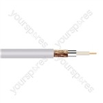 Standard Digital RG6U Satellite 75 Ohm Cable Hank - Lead Length (m) 50