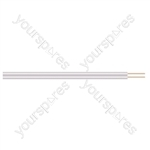 2 Core Figure of 8 Bell Wire - Lead Length (m) 10