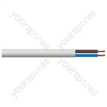Round 2 Core 0.75mm PVC Flex 6A 3182Y Hank - Lead Length (m) 10