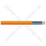 Round 2 Core 1mm PVC Flex 10A 3182Y Hank - Lead Length (m) 10