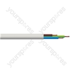 Round 3 Core 0.5mm PVC Flex 3A 2183Y Hank - Lead Length (m) 10