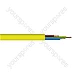 Round 3 Core 1.5mm Arctic Grade  Flex 15A 3183YG  - Colour Yellow