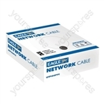 Eagle Economy UTP PVC CCA Network Cable  - Length (m) 100 (330ft)