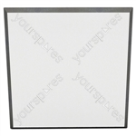 60 X 60 X 5CM FABRIC FACED TILE (Pack of 6) - Colour White