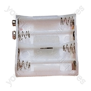 Battery Holder for 4xAA Cells