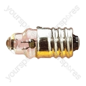 Clear 200 mA MES Screw Fitting Bulb - Voltage 3.5V