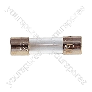 20 mm Glass Quick Blow Fuse - Rating (A) 500mA