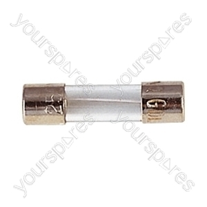 20 mm Glass Quick Blow Fuse - Rating (A) 6.3A