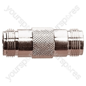 N Type Double Ended Female Coupler