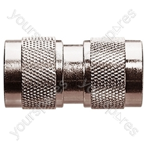 N Type Double Ended Male Coupler