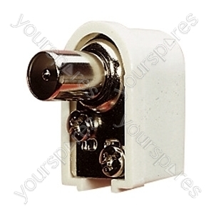 9.5 mm Right Angled Coaxial Line Plug