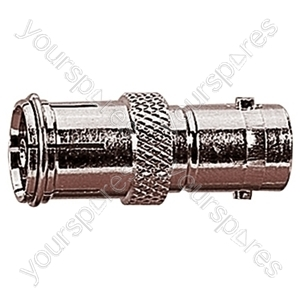 9.5 mm Coaxial Line Socket to BNC Line Socket Radio Frequency Adaptor