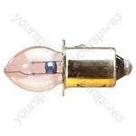 Clear 500 mA Pre Focus Bulb - Voltage 6V