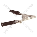 67 mm Crocodile Clip - Colour Black