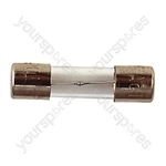 20 mm Glass Slow Blow Fuse - Rating (A) 630mA