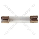 32 mm Glass Quick Blow Fuse - Rating (A) 350mA