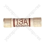 Domestic Mains Fuses Pack of 10 - Rating (A) 13