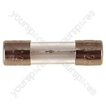 32 mm Glass Slow Blow Fuse  - Rating (A) 630mA