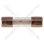 32 mm Glass Slow Blow Fuse  - Rating (A) 1A