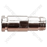 N Type In-Line Female Socket for RG58 Cable