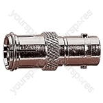 9.5 mm Coaxial Line Socket to BNC Line Socket Radio Frequency Adaptor